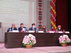 2 апреля 2021 года в  с. Верхние Татышлы прошёл   VI отчетно-выборный съезд удмуртов Республики Башкортостан
